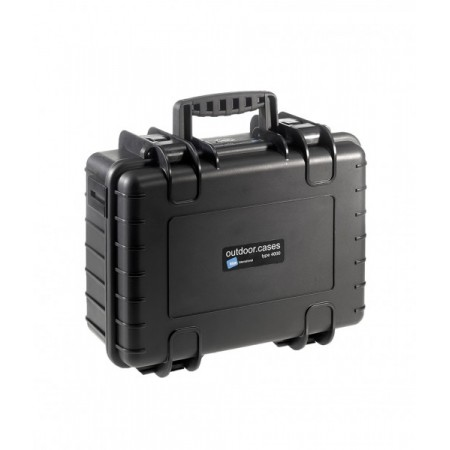 B&W Outdoor Battery Case Typ 4000 black