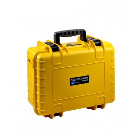 B&W Outdoor Battery Case Typ 4000 yellow