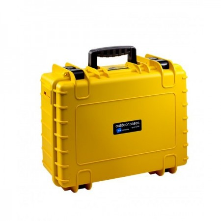 B&W Outdoor Battery Case Typ 5000 yellow