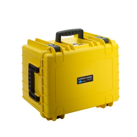 B&W Outdoors Battery Case Typ 5500 yellow