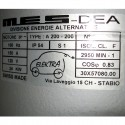 MES-DEA 30/60kW Liquid Cooled Induction Motor